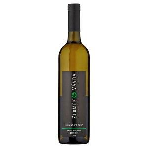 Zlomek & Vávra Rulandské šedé jakostní víno s přívlastkem suché bílé 0,75l