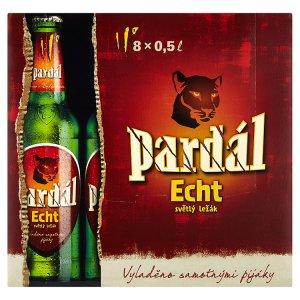 Pardál Echt světlý ležák 8 x 0,5l v akci