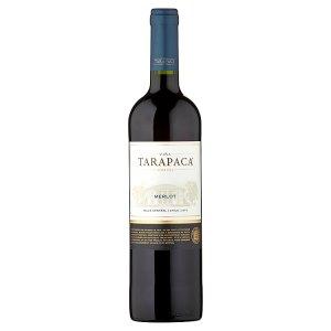 Viña Tarapacá Merlot červené víno 0,75l
