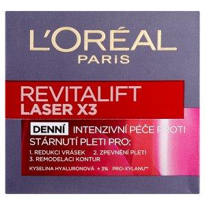 L'Oréal Paris Revitalift Laser X3 krém 50ml, vybrané druhy