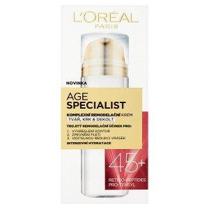L'Oréal Paris Age Specialist Remodelační krém 50ml, vybrané druhy