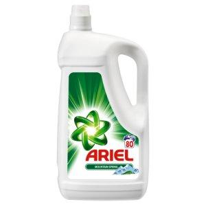 Ariel gel na praní 80 dávek, vybrané druhy