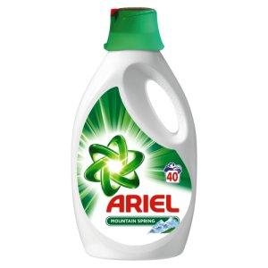 Ariel gel na praní 40 dávek, vybrané druhy