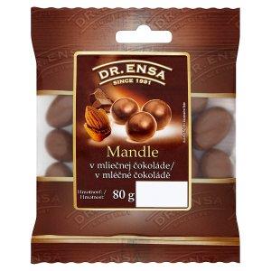 Dr. Ensa Mandle v mléčné čokoládě 80g