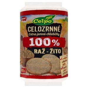 Druid Celpo Celozrnné extra jemné chlebíčky 100 % žito 80g