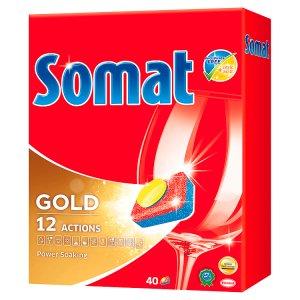 Somat tablety do myčky 40 ks, vybrané druhy