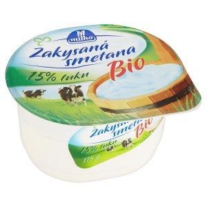 Milko Bio Zakysaná smetana 175g