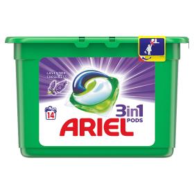 Ariel gelové kapsle 14dávek, vybrané druhy
