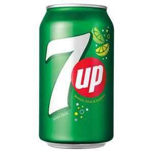 7UP Limonáda s citronovo-limetovou příchutí 330ml
