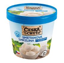 Česká chuť zmrzlina 1000ml, vybrané druhy