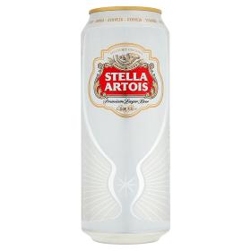 Stella Artois ležák světlý 0,5l plech