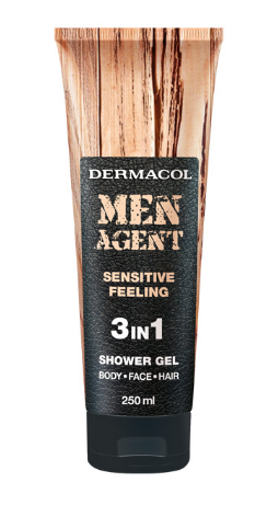 Dermacol Men Agent sprchový gel 250 ml, vybrané druhy