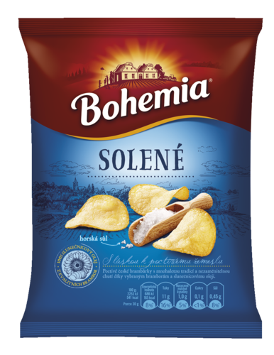 Bohemia chips 230g