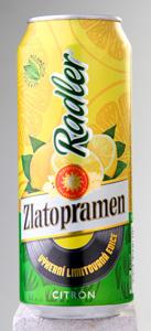 Zlatopramen Radler citron