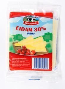 Báječný český Eidam 30% plátky