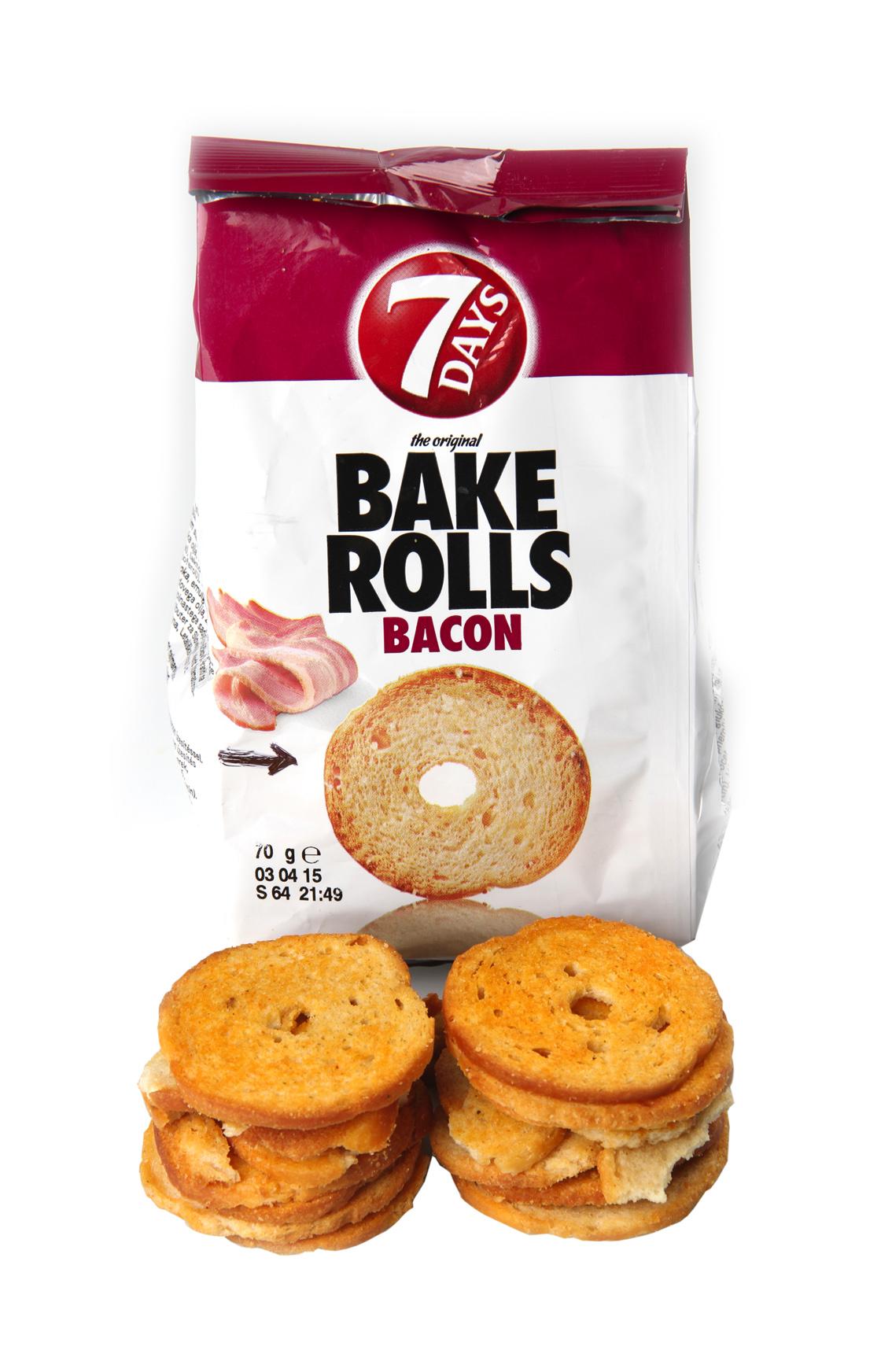 7 Days, Bake Rolls Bacon