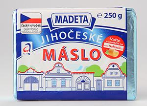 Madeta Jihočeské máslo KLASA