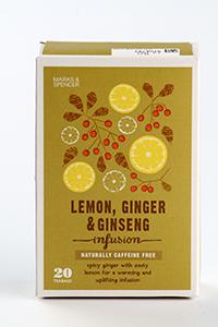 Marks & Spencer Lemon, Ginger