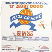 Pizza Go Home, 611 g
